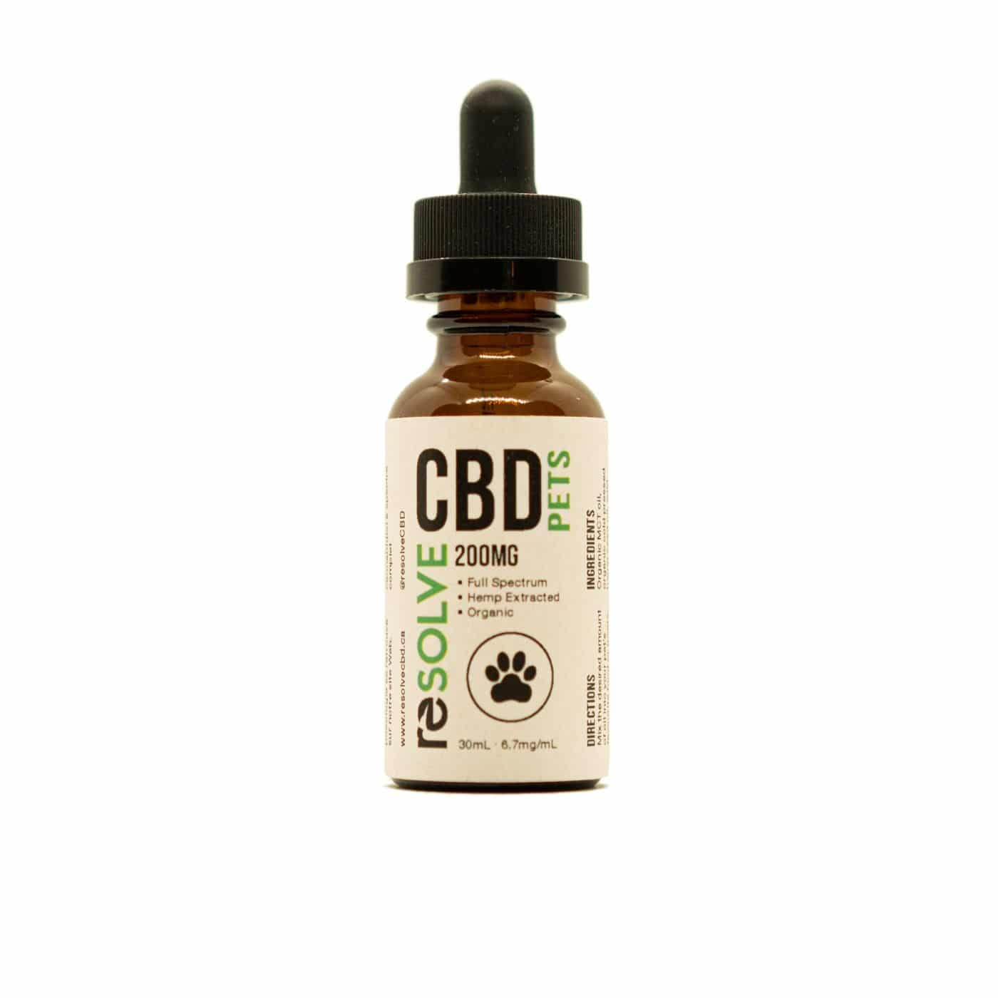 200mg pets oil resolvecbd